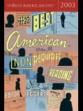 The Best American Nonrequired Reading 2003