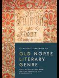 Critical Companion to Old Norse Literary Genre