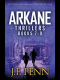ARKANE Thriller Boxset 3: One Day in New York, Destroyer of Worlds, End of Days