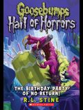 The Birthday Party of No Return (Goosebumps Hall of Horrors #6), 6