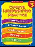 3rd Grade Cursive Handwriting Practice (Practice (Scholastic))
