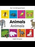 My First Bilingual Book-Animals (English-Portuguese)
