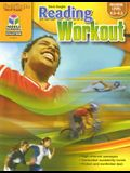Steck-Vaughn Reading Workout: Reproducible Book 4 (Reading Level 4.5-5.5)