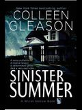Sinister Summer: A Wicks Hollow Book