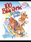100 Bible Stories, 100 Bible Songs [With CD]