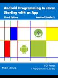 Android Programming In Java: Starting with an App