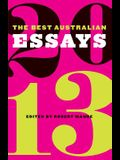 The Best Australian Essays 2013