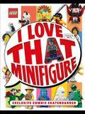 Lego: I Love That Minifigure: Exclusive Zombie Skateboarder Minifigure