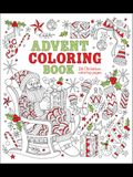 Advent Coloring Book: 24 Christmas Coloring Pages
