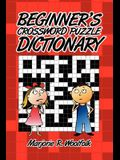 Beginner's Crossword Puzzle Dictionary
