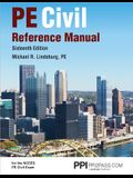 Ppi Pe Civil Reference Manual, 16th Edition (Hardcover) - Comprehensive Reference Manual for the Ncees Pe Civil Exam