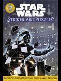 Star Wars Sticker Art Puzzles