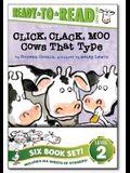 Click, Clack! Ready-To-Read Value Pack: Click, Clack, Moo; Giggle, Giggle, Quack; Dooby Dooby Moo; Click, Clack, Boo!; Click, Clack, Peep!; Click, Cla
