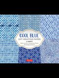 Cool Blue Gift Wrapping Papers: 6 Sheets of High-Quality 24 X 18 Inch Wrapping Paper