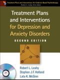 Treatment Plans and Interventions for Depression and Anxiety Disorders [With CDROM]