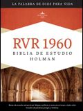 Biblia de Estudio Holman-Rvr 1960 = Holman Study Bible-Rvr 1960