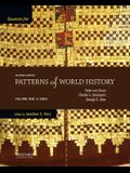 Sources for Patterns of World History: Volume One to 1600