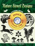 Nature Stencil Designs CD-ROM and Book [With CDROM]