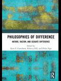 Philosophies of Difference: Nature, Racism, and Sexuate Difference