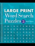 Large Print Word Search Puzzles 2, 2