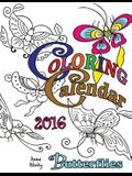 Coloring Calendar 2016: Butterflies