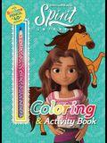 DreamWorks Spirit Untamed: Coloring & Activity Book