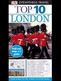 Top 10 London [With Fold Out Map]