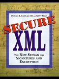Secure XML: The New Syntax for Signatures and Encryption