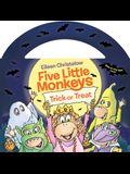 Five Little Monkeys Trick-Or-Treat (Glow-In-The-Dark Edition)