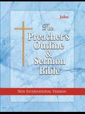Preacher's Outline & Sermon Bible-NIV-John