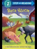 Barn Storm (Step into Reading)