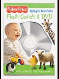 Fisher Price Baby's Animals Flashcards And DVD (Fisher Price Baby Book Collection)