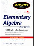 Schaum's Outlines Elementary Algebra