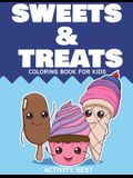 Sweets and Treats Coloring Book for Kids