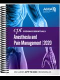 CPT Coding Essentials for Anesthesiology and Pain Management 2020