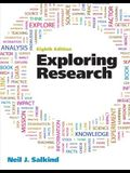 Exploring Research Plus MySearchLab with eText -- Access Card Package (8th Edition)