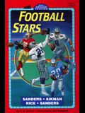 Football Stars:  Sanders, Aikman, Rice, Sanders (All Aboard Reading, Level 3)