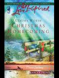 Christmas Homecoming (Davis Landing, Book 6) (Larger Print Love Inspired #376)