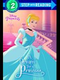A Dream for a Princess (Disney Princess) (Step into Reading)