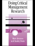 Doing Critical Management Research