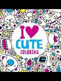 I Heart Cute Coloring