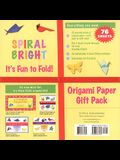 Origami Paper Bright (Spiral Pack) 76 Sheets