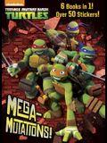 Mega-Mutations! (Teenage Mutant Ninja Turtles) (Jumbo Coloring Book)