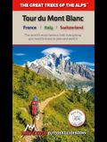 Tour Du Mont Blanc: Real Ign Maps 1:25,000 - No Need to Carry Separate Maps