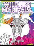 Wildlife Mandala Coloring Book: Calming Coloring Books For Boys