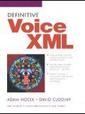 Definitive VoiceXML