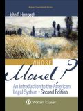 Whose Monet?: An Introduction to the American Legal System