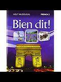 Bien Dit!: Student Edition Level 2 2013
