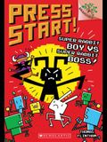 Super Rabbit Boy vs. Super Rabbit Boss!: Branches Book (Press Start! #4), Volume 4
