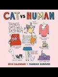 Cat Vs Human 2016 Wall Calendar
